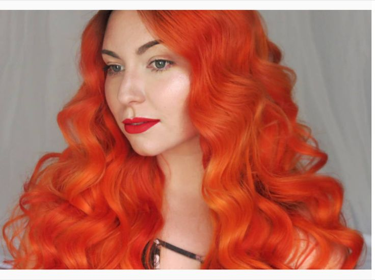 Hair Color To Orange