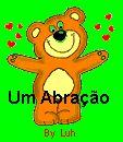orkut e hi5, Abraço, ursinho, coração, imagem, animada