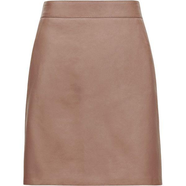 Best 25  Brown leather skirt ideas only on Pinterest | Velvet ...
