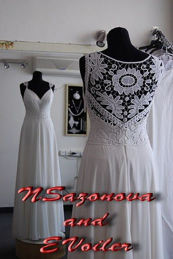Romanian Point Lace dress