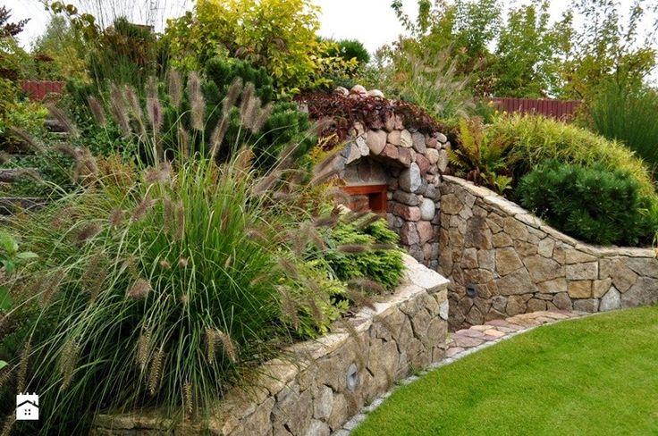 ogród z piwniczką - zdjęcie od Zielona Przystań - Ogród - Styl Klasyczny - Zielona Przystań