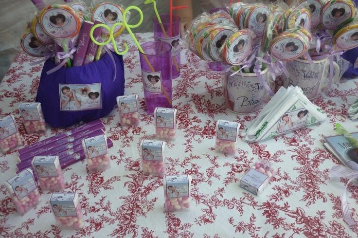 Cumple violetta on Pinterest | Fiestas, Souvenirs and Mesas