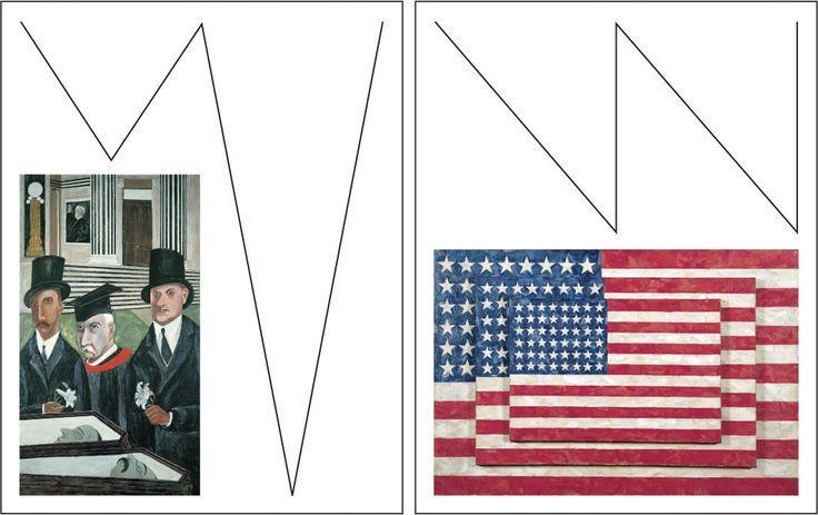 Whitney Museum responsive W graphic identity