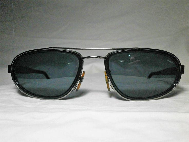 Police Italy, oval biker sunglasses, men's, women's, unisex, super vintage by FineFrameZ on Etsy