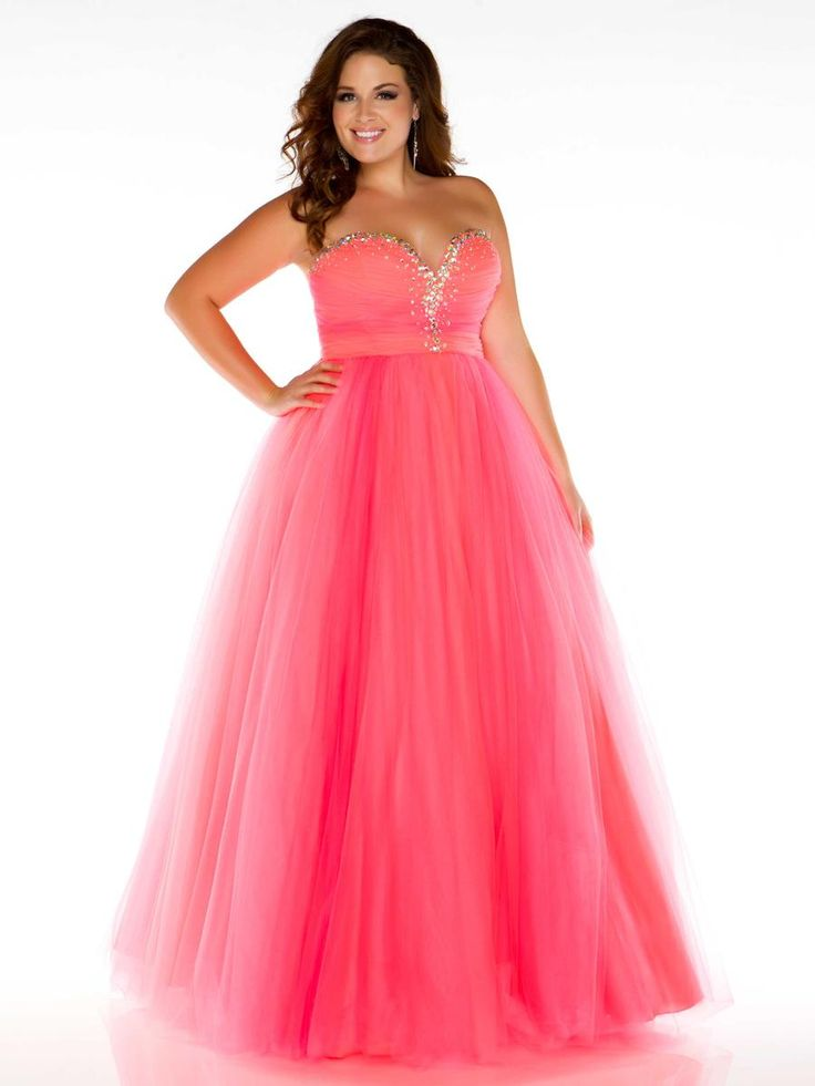 plus size prom dresses #promdresses #bridesmaiddresses