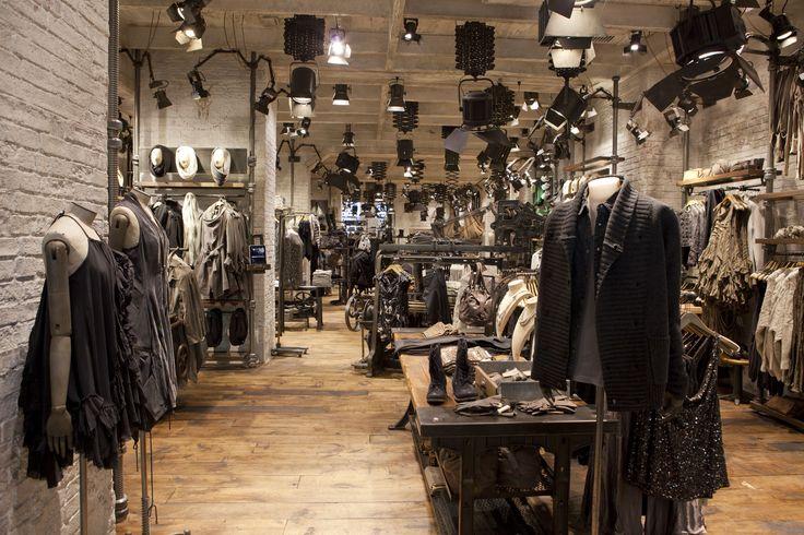 pictures of all saints design shops | Courtesy of All Saints