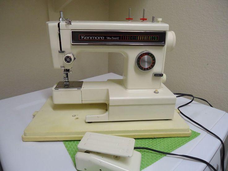 Sears Kenmore Ultra Stitch 12 Heavy Duty Sewing Machine