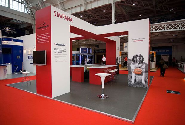 Exhibition Stand Builders Nottingham : Custom exhibition stand design and build quality