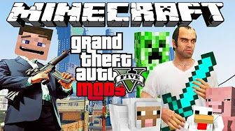 minecraft en gta 5 - YouTube