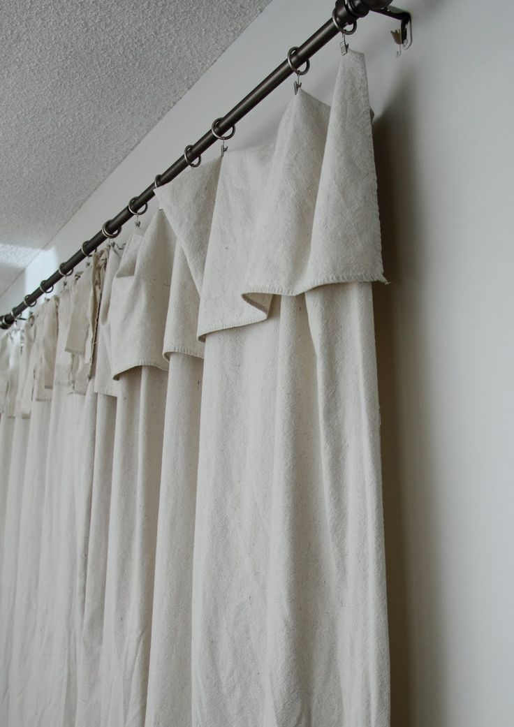 Image result for curtains with large fold over top