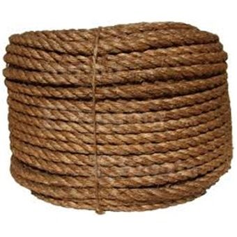 Manila rope is a type of rope made from manila hemp.Manila hemp is a type of fiber obtained from the leaves of the abacá. It is not ac...