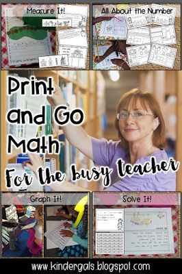 """Need a few """"go to"""" print and go activities to help your kids do independent work and require very little prep?"""