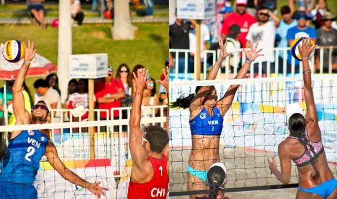 El equipo femenino de voleibol de playa conformado por Norisbeth Agudo y Gabriela Britoobtuvieron este lunes la medalla de plata en los Juegos Bolivarianos, en Iquique, Chile. La dupla nacional cayó en la final ante el equipo de Colombia, con marcador de 2-1 (14-21, 21-19 y 15-17), de acuerdo con los resultados publicados en la página web oficial del evento.</p>