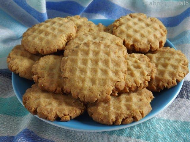 Kipróbált és bevált receptek: Darabos mogyoróvajas keksz