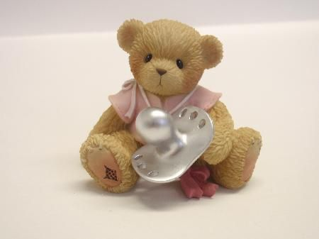 Cherished Teddy Baby Decoration - Baby and Christening Decorations - Online Shop - Cake for all Occasions