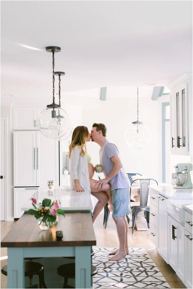 Kitchen Goals Dwell Kitchen Pregnant Couple