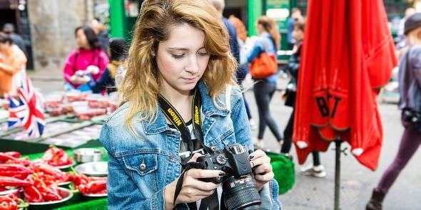 Curs de fotografie urbana si engleza la Londra