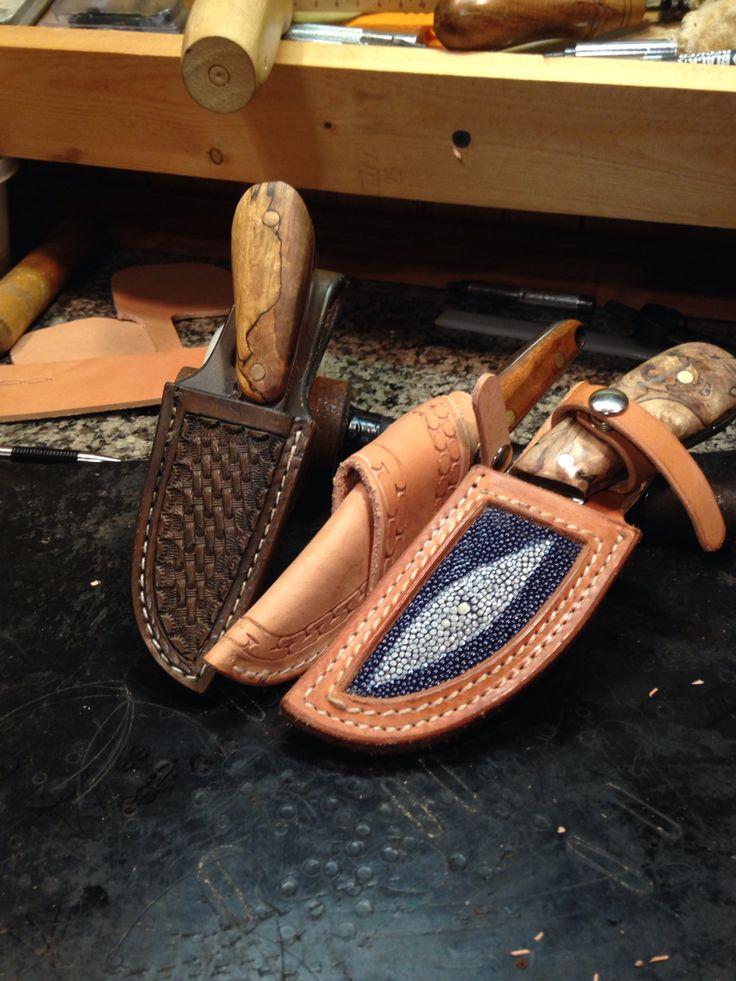 Knife sheaths made for custom knives