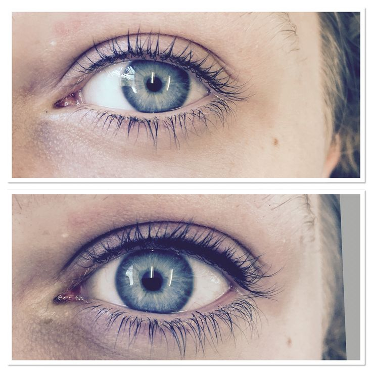 Flawless permanent eyeliner!