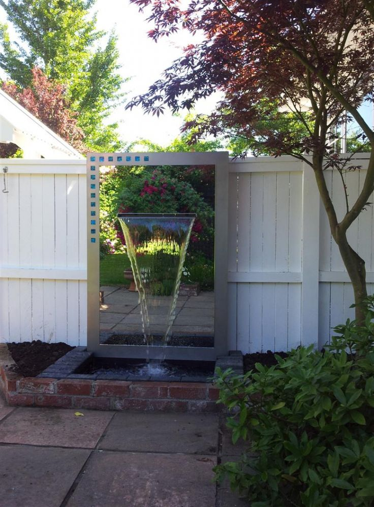 Outdoor Mirrors | Outdoor Mirror Water Feature 1600 X 1100   Freestyle  Mirrors
