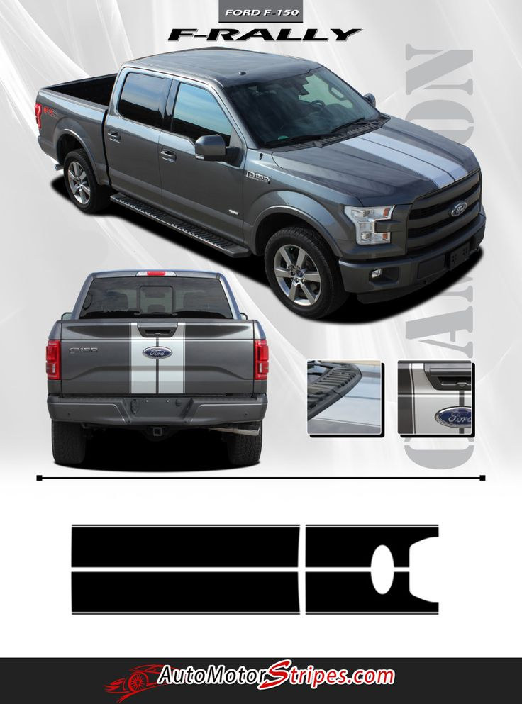 Best Ford F Vinyl Graphics Stripes Decals By - Custom truck decals vinyls