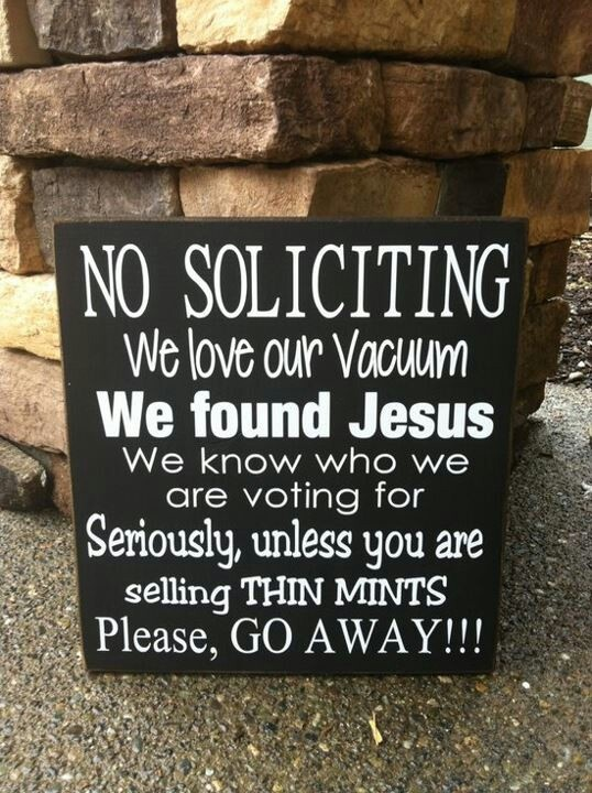 80 best images about funny signs on pinterest real men - Funny soliciting signs ...