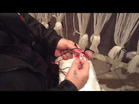 Taniko weaving tutorial Part 1 - YouTube