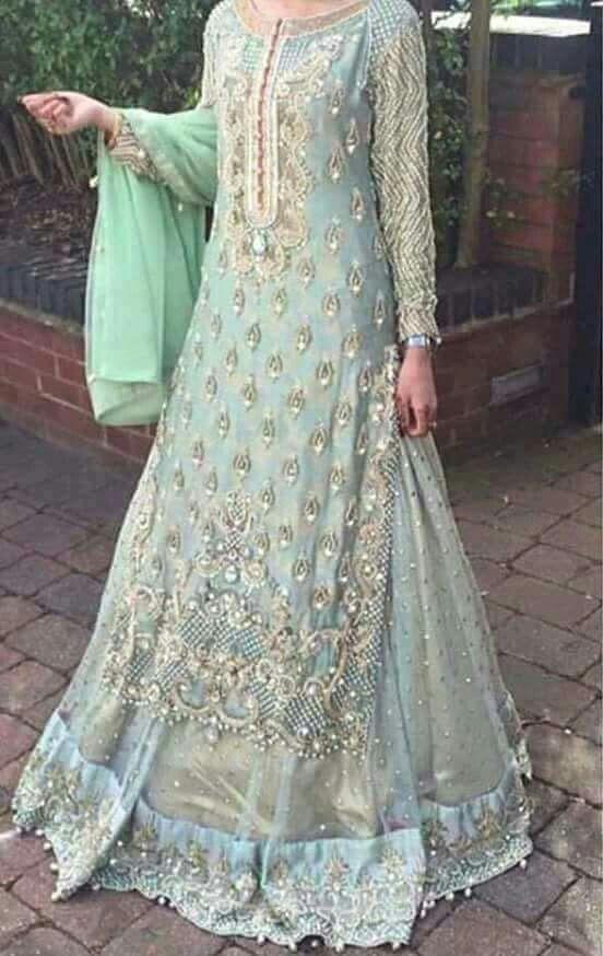 @nivetas get this beautifull lehenga made at @nivetas whatsapp +917696747289 visit us at https://www.facebook.com/punjabisboutique  #Lehenga #Engagement #Wedding