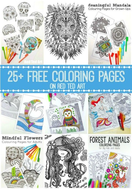 Free Coloring Pages for Adults - check out this fantastic set of Colouring Pages…