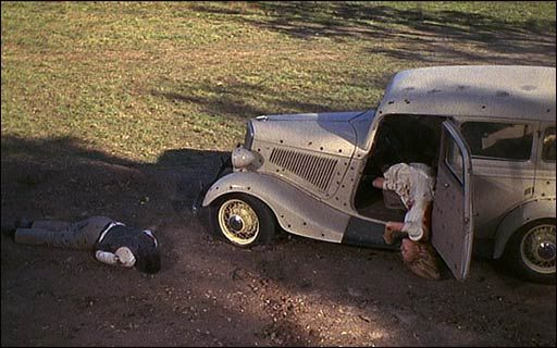 Death scene from 1967's Bonnie and Clyde