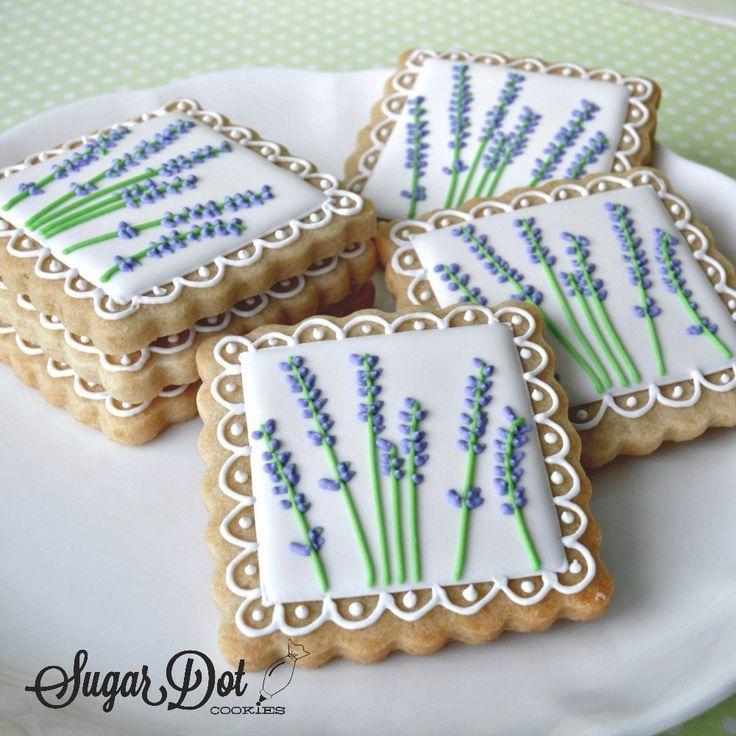 Wedding Custom Sugar Cookies, Frederick, MD Maryland favors beach, flowers, shab…