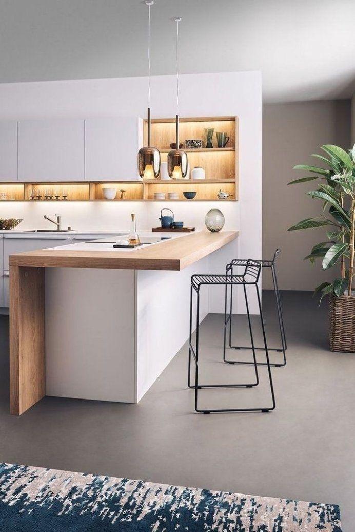 Wundersch ne moderne K che Design Ideas48 #decoratingroom ...