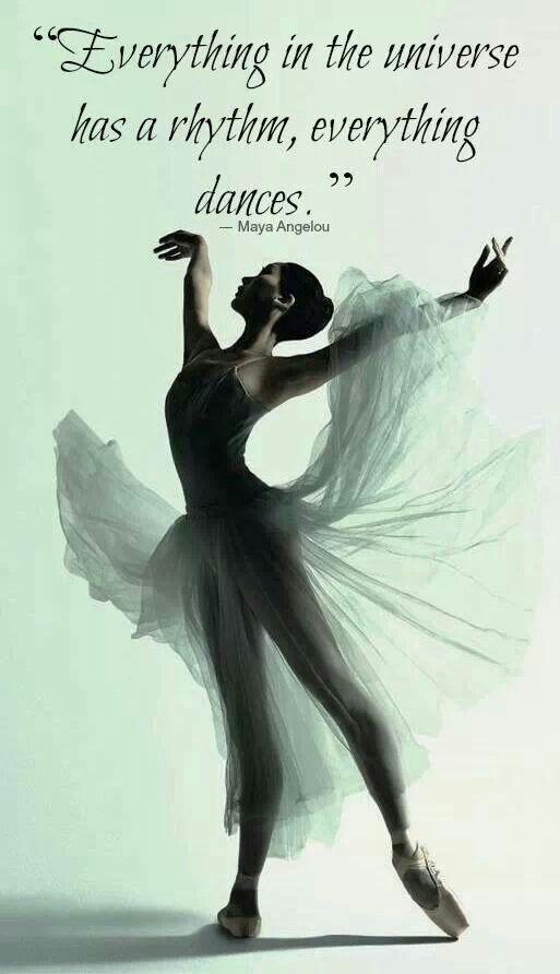 Maya Angelou Dancing
