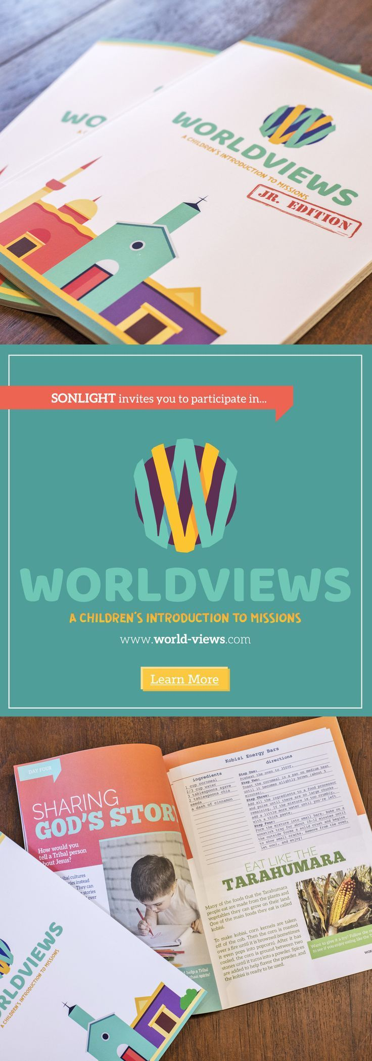 WorldViews is a free digital curriculum and video series that will teach you and your children about the five primary religious views held by the nearly 7,000 people groups around the world who still don't have a strong church planting or evangelical movement in their midst (the THUMB groups: Tribals, Hindus, the Unchurched, Muslims and Buddhists.• Christian homeschool curriculum • Worldview unit study • world religions