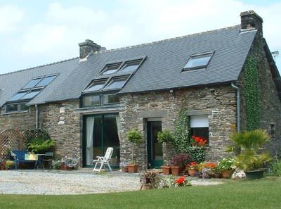 Guingamp Cottage rental: Triton Cottage