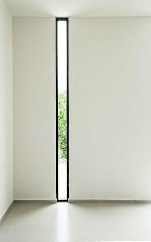 COOL WINDOW!! Light well, Aluminium Door, Aluminium Entrance Door, Benefits of Aluminium Doors. Aluminium windows, renovations, moving house, Thin window