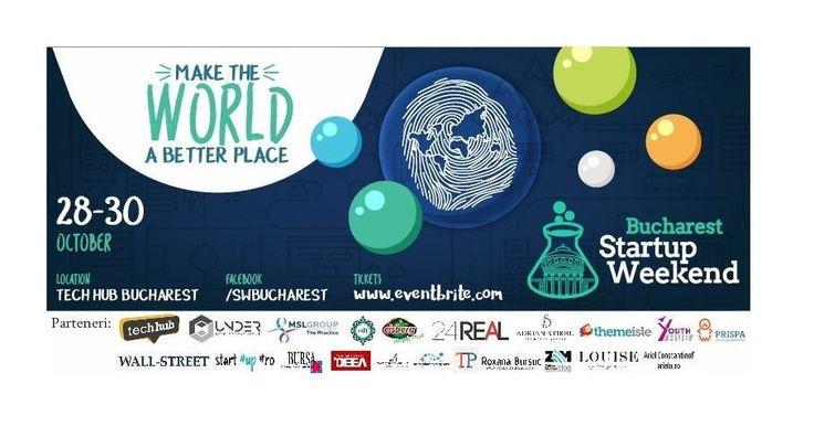 Startup Weekend Bucharest, locul în care o afacere prinde viață în 54 de ore