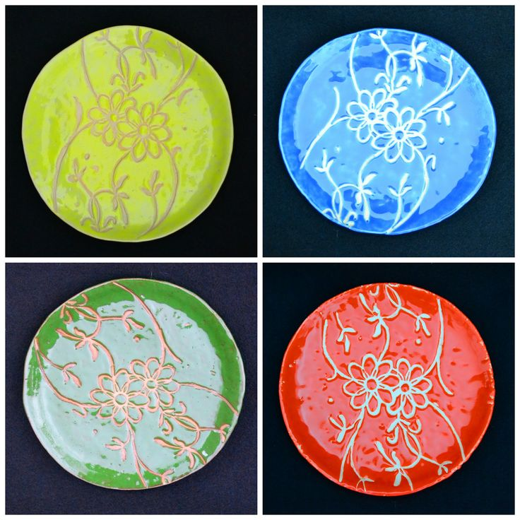 Ceramiczne talerze.