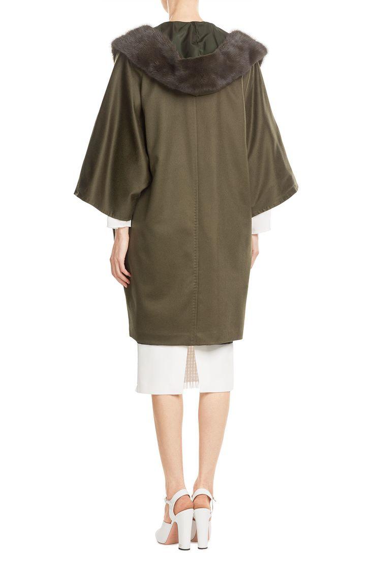 Кейп пальто с кашемира и меха норки - Макс Мара | женщины | ру STYLEBOP.com