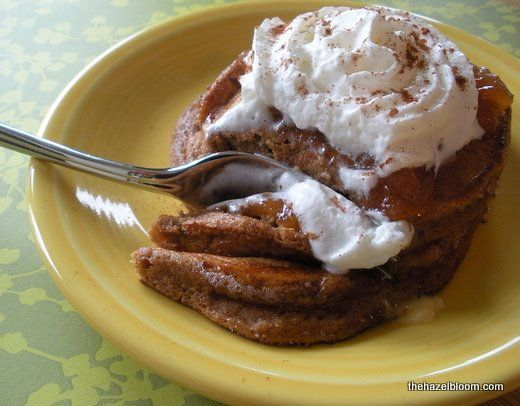 Gingerbread Pancakes | Fall holiday fun | Pinterest