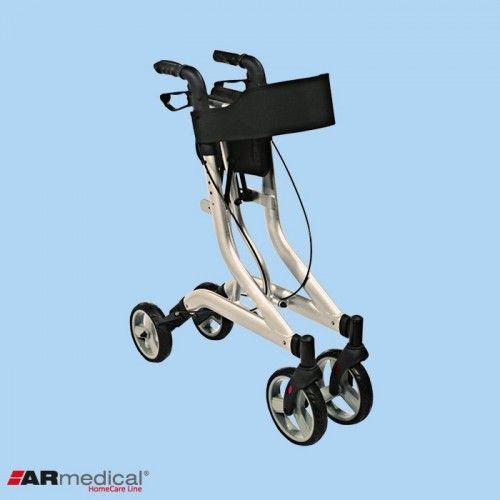Podpórka rehabilitacyjna 4-kołowa, aluminiowa. DYNAMIC