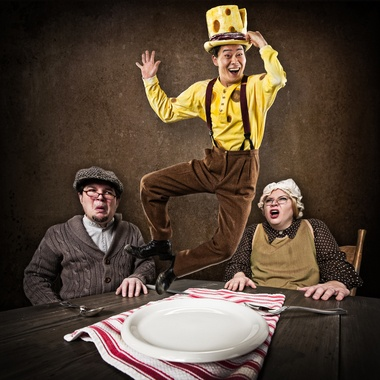 """""""The Stinky Cheese Man"""" is at Oregon Children's Theatre through March 24, 2013."""