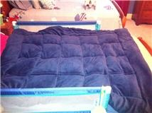 how to make your own weighted blanket - - Pinned by #PediaStaff.  Visit http://ht.ly/63sNt for all our pediatric therapy pins