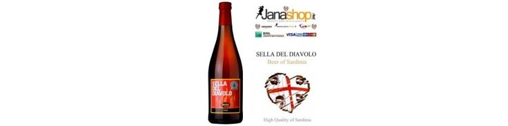 PROPOSTE DEL GIORNO  BIRRA SELLA DEL DIAVOLO, Birra Artigianale Sarda, 75 cl, 6,5° Alc. Prodotti Sardi - € 11,42 SELLA DEL DIAVOLO BIRRA ARTIGIANALE 1 BOTTIGLIA DA 75 CL