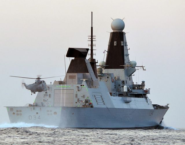 Type 45   13 Years, 6 Billion Quid and Six Ships