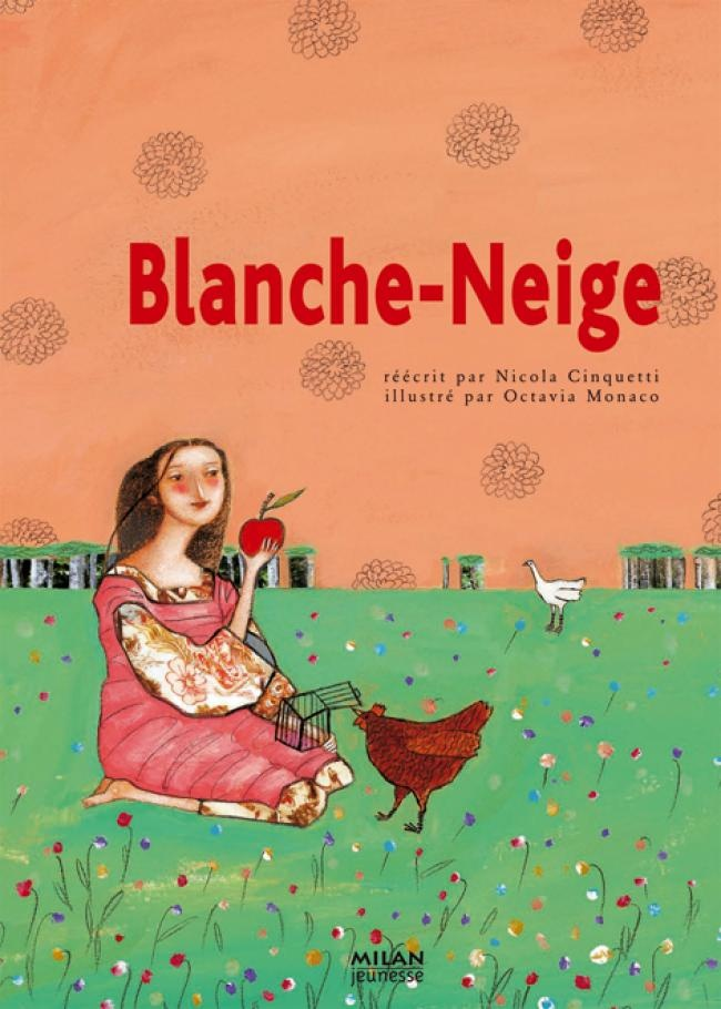 Blanche-Neige (Snow White), French book