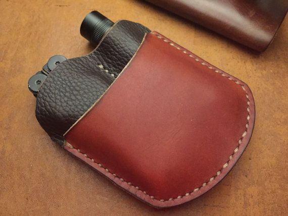 Handmade very handy EDC (every day carry) organizer with a minimalist approach. This item is completely hand made, from the cutting of the