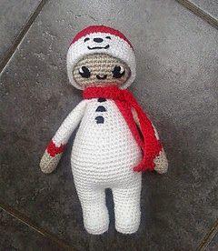 Noo Noo Doll in her Snowman Costume