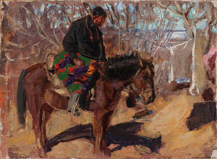 Intiaani ratsain, 1925