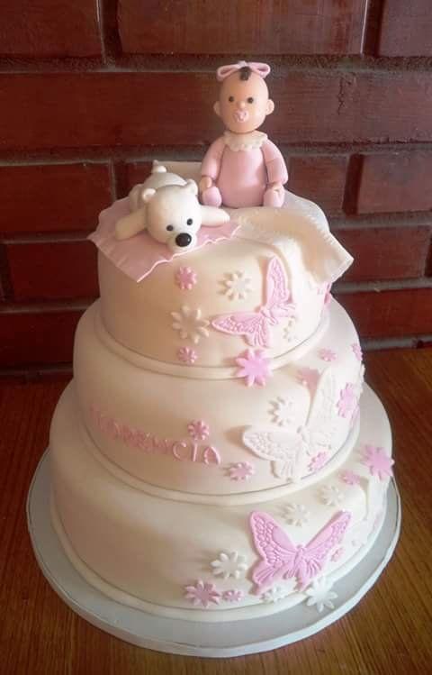 #bautizo #baby #fondant #cake by Volován Productos  #instacake #puq #Chile #VolovanProductos #Cakes #Cakestagram #SweetCake